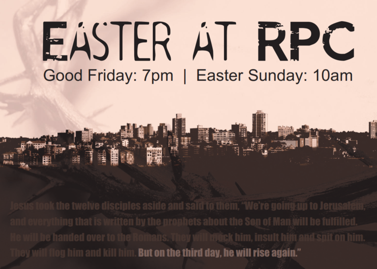 easter at ryde presbyterian church